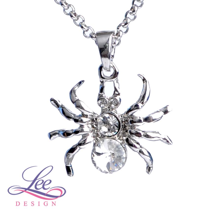 Náhrdelník se Swarovski® crystals Pavouček Crystal 81a7f3f898