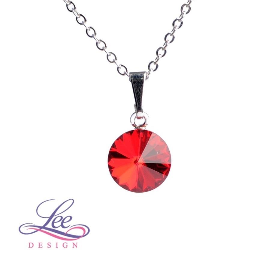 bf8a1e39f11 Dětský náhrdelník se Swarovski® crystals RIVOLI 8 Light Siam