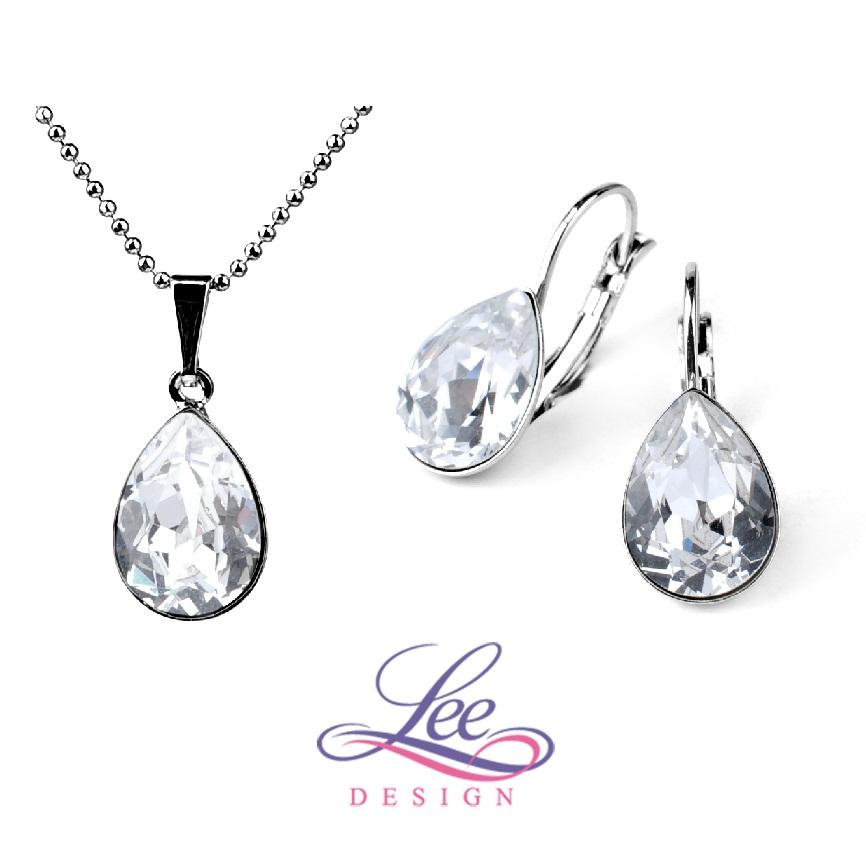 Sada šperků se Swarovski® crystals Slza KL Crystal 6603b6b5bf3