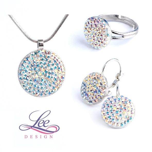 Sada šperků se Swarovski® crystals Lee Ella Crystal AB - více variant b7b19f1acb1