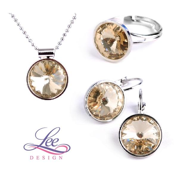 Sada šperků se Swarovski® crystals Rivoli LX Light Silk 728d96ea064