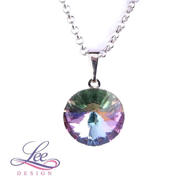 Náhrdelník se Swarovski® crystals Rivoli 14 Crystal Vitrail Light 2a8ee452918