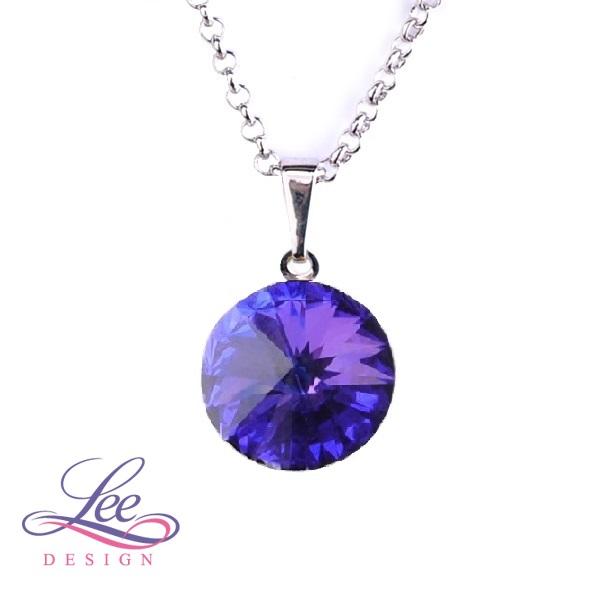 3c0d0e91aff Náhrdelník se Swarovski® crystals Rivoli 14 Crystal Heliotrope