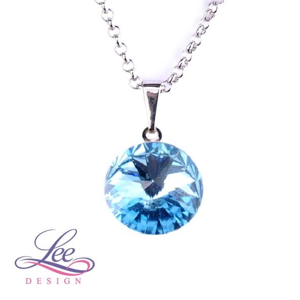 eb6c2e86fd5 Náhrdelník se Swarovski® crystals Rivoli 14 Aquamarine