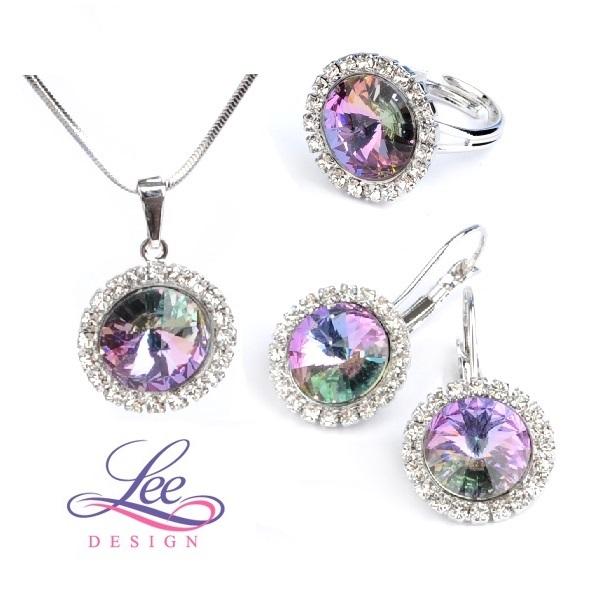 Sada šperků se Swarovski® crystals Daisy Crystal Vitrail Light 9da85fa2217