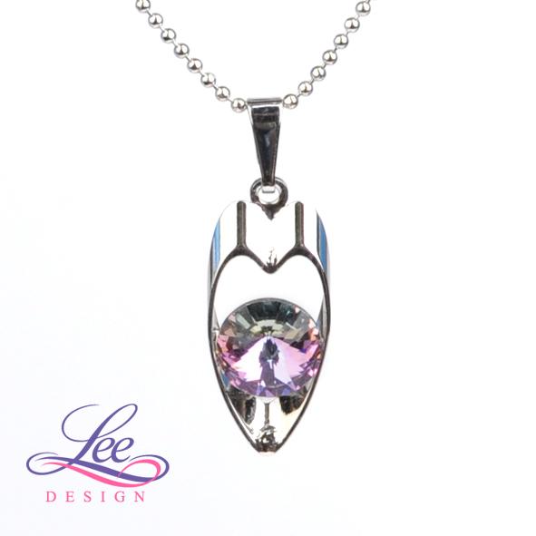Náhrdelník se Swarovski® crystals Srdíčko Crystal Vitrail Light 13235469c3b