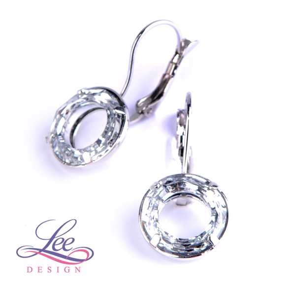 Náušnice se Swarovski® crystals C Ring Crystal b1c82342881