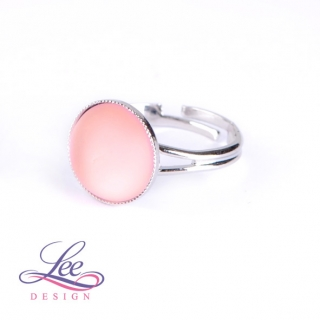 Prsten Velvet Light Rose 12 mm