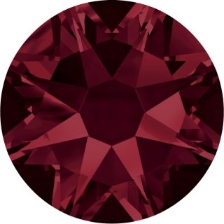 Swarovski Elements 2088 Xirius Rose Foiled (BAL) - Burgundy (515)