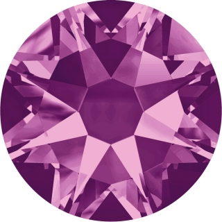 Swarovski Elements 2088 Xirius Rose Foiled (BAL) - Amethyst (204)