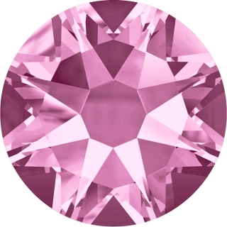 Swarovski Elements 2088 Xirius Rose Foiled (BAL) - Light Amethyst (212)