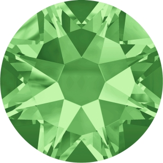 Swarovski Elements 2088 Xirius Rose Foiled (BAL) - Peridot (214)