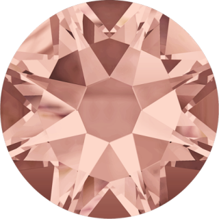 Swarovski Elements 2088 Xirius Rose Foiled (BAL) - Blush Rose (257)
