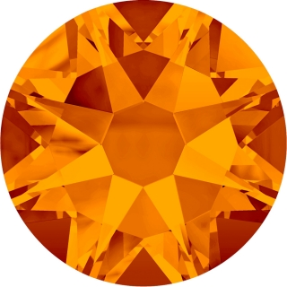 Swarovski Elements 2088 Xirius Rose Foiled (BAL) - Tangerine (259)