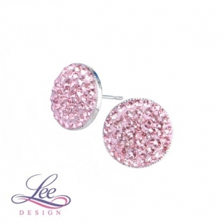Náušnice se Swarovski® crystals Lee Ella PU12 Light Rose